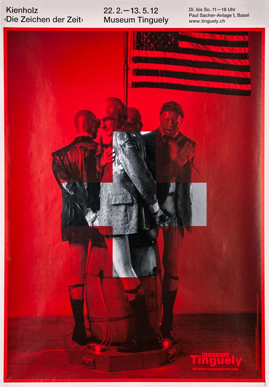Museum Tinguely, ‹Edward Kienholz› Plakate